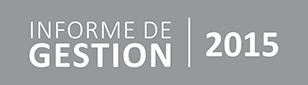 Informe Gestión 2015