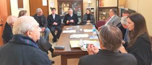Audiencia del STJ con los representantes de la Sección Federal del Colegio de Abogados de Entre Ríos.