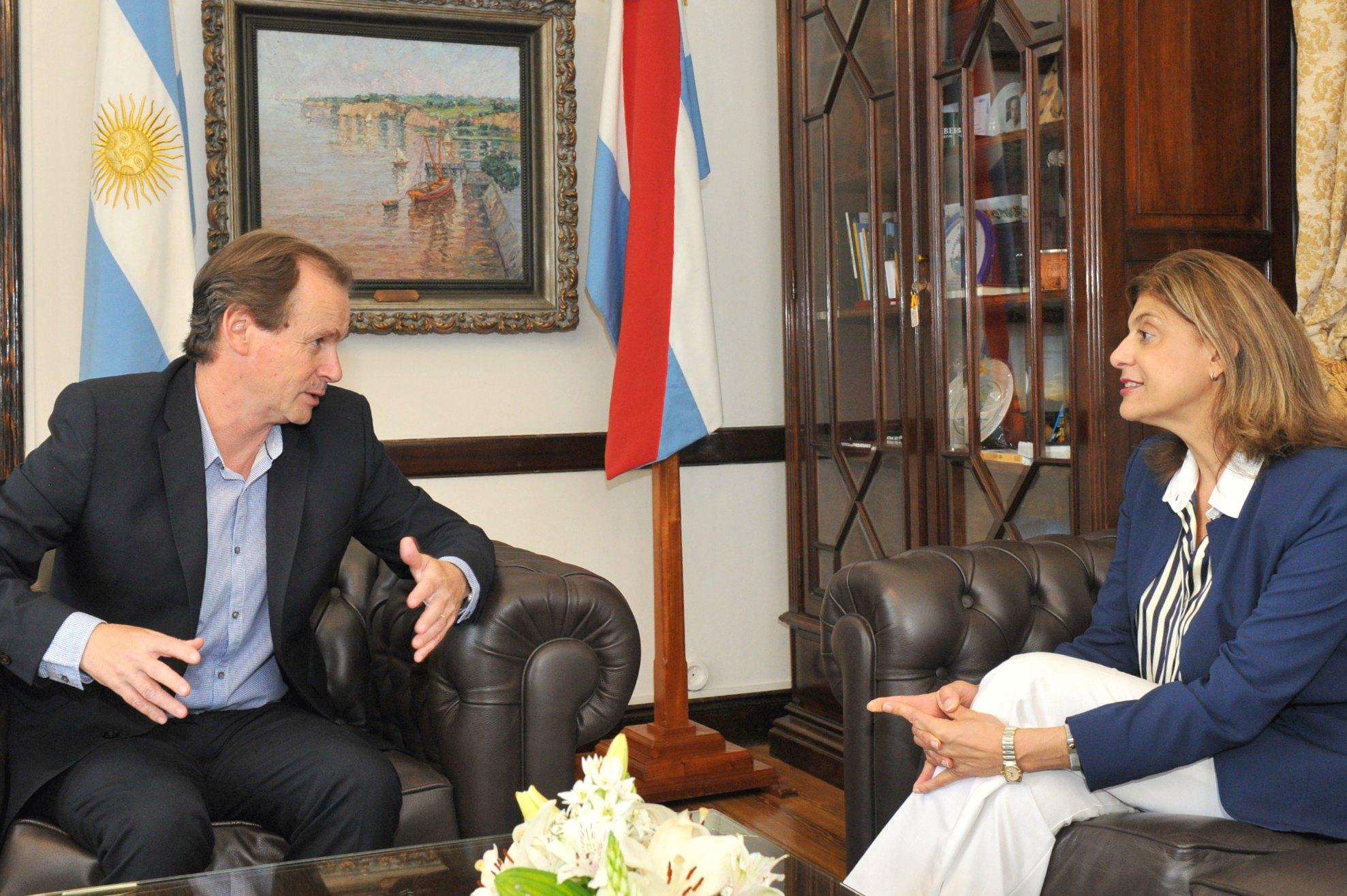 El Gobernador y la Presidenta del STJ  dialogaron sobre infraestructura judicial, situación carcelaria  e instrumentación del uso de tobilleras