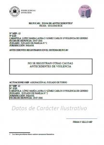 Información SIC 288-16 - REJUCAV - Ejemplo Negativo