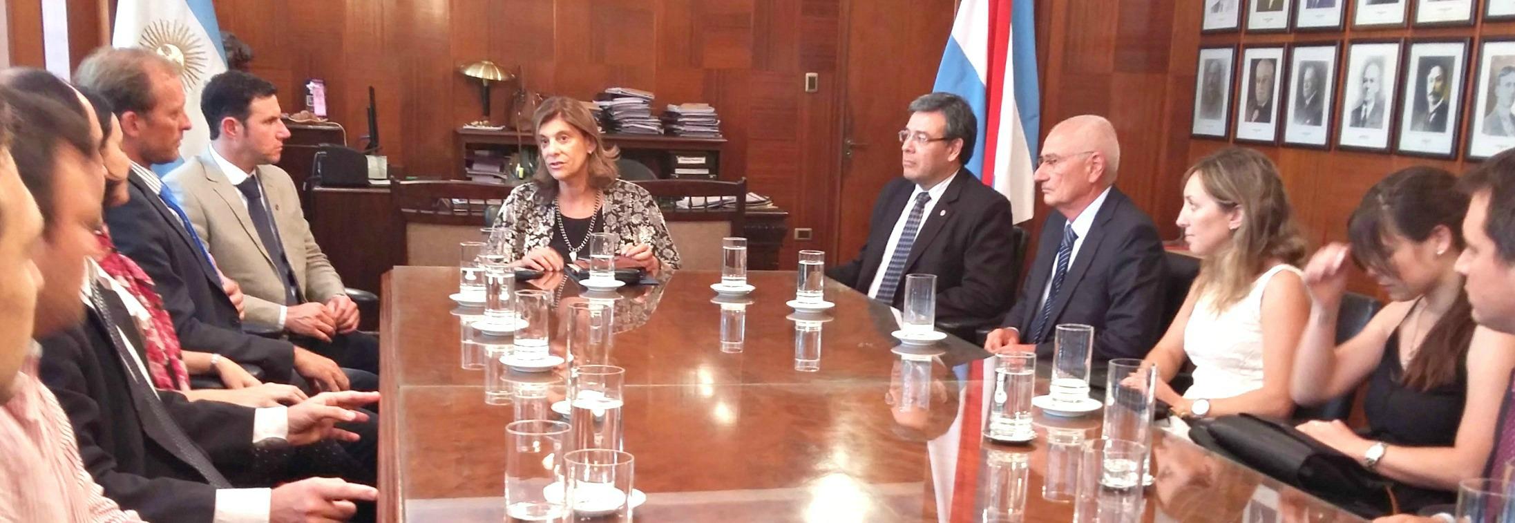 El STJ recibió a las nuevas autoridades  de la Sección Paraná del Colegio de Abogados