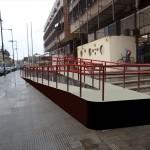 Tribunales Concepción del Uruguay - Maqueta Rampa