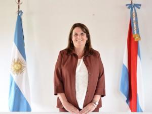 Dra. María Marta Britos, Juez de paz de Ceibas