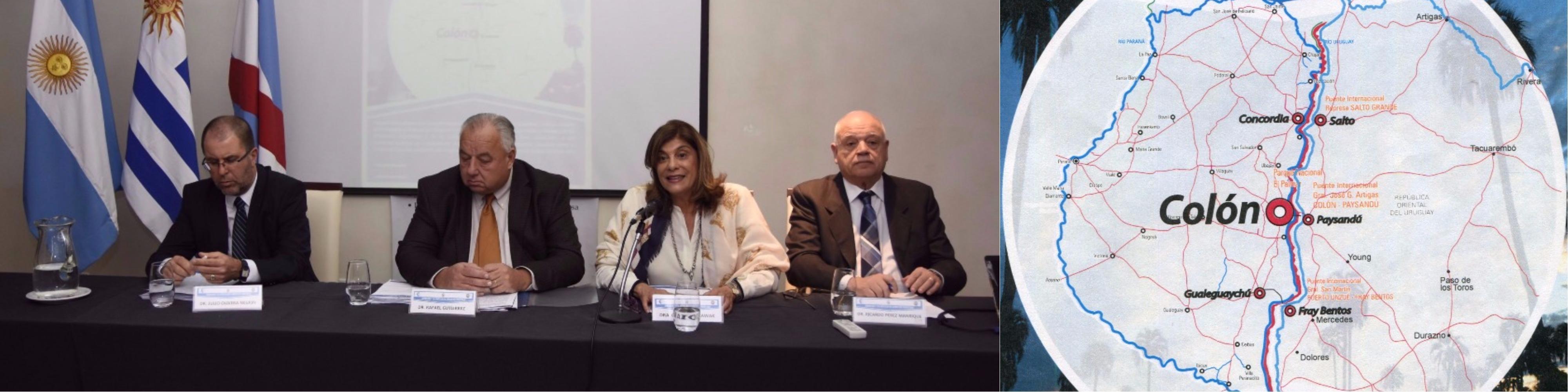 """Magistrados entrerrianos y uruguayos debaten y buscan soluciones a los problemas en común, en las Jornadas """"La Justicia en Zonas de Frontera"""""""