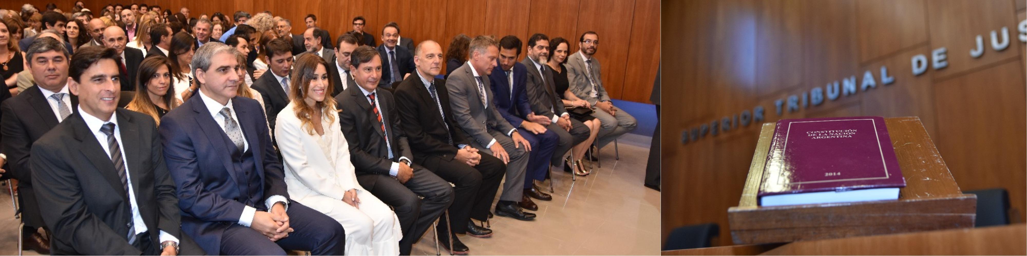 El STJ tomó juramento y puso en funciones a 15 nuevos jueces titulares de Gualeguaychú, Gualeguay, C. del Uruguay, Concordia y Paraná