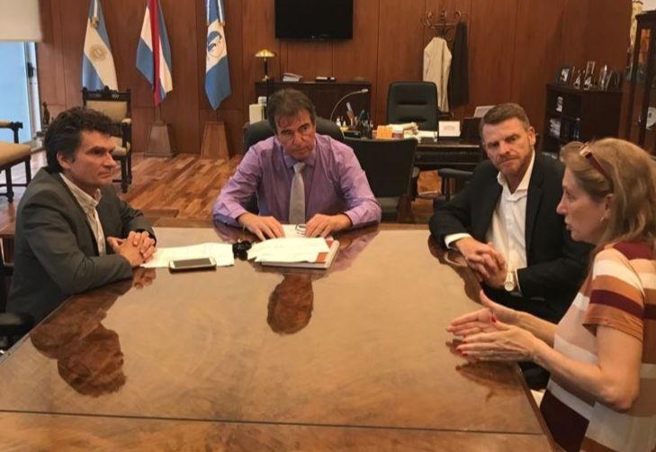 Reunión del STJ con autoridades de Villa Aranguren para la puesta en funcionamiento del nuevo Juzgado de Paz