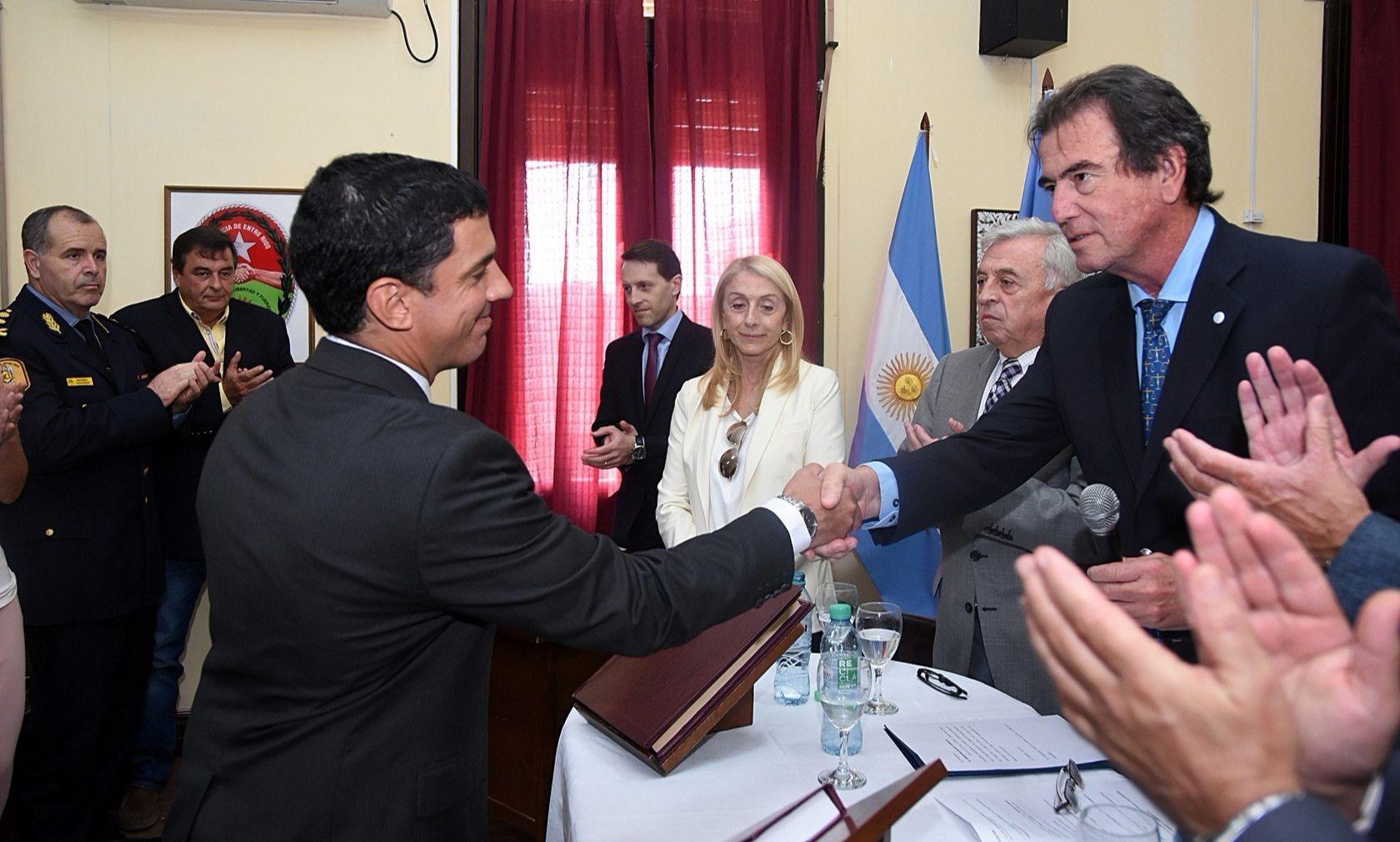 Juró el Dr. Sebastián Manuel Gianello como juez a cargo del nuevo Juzgado del Trabajo de Colón