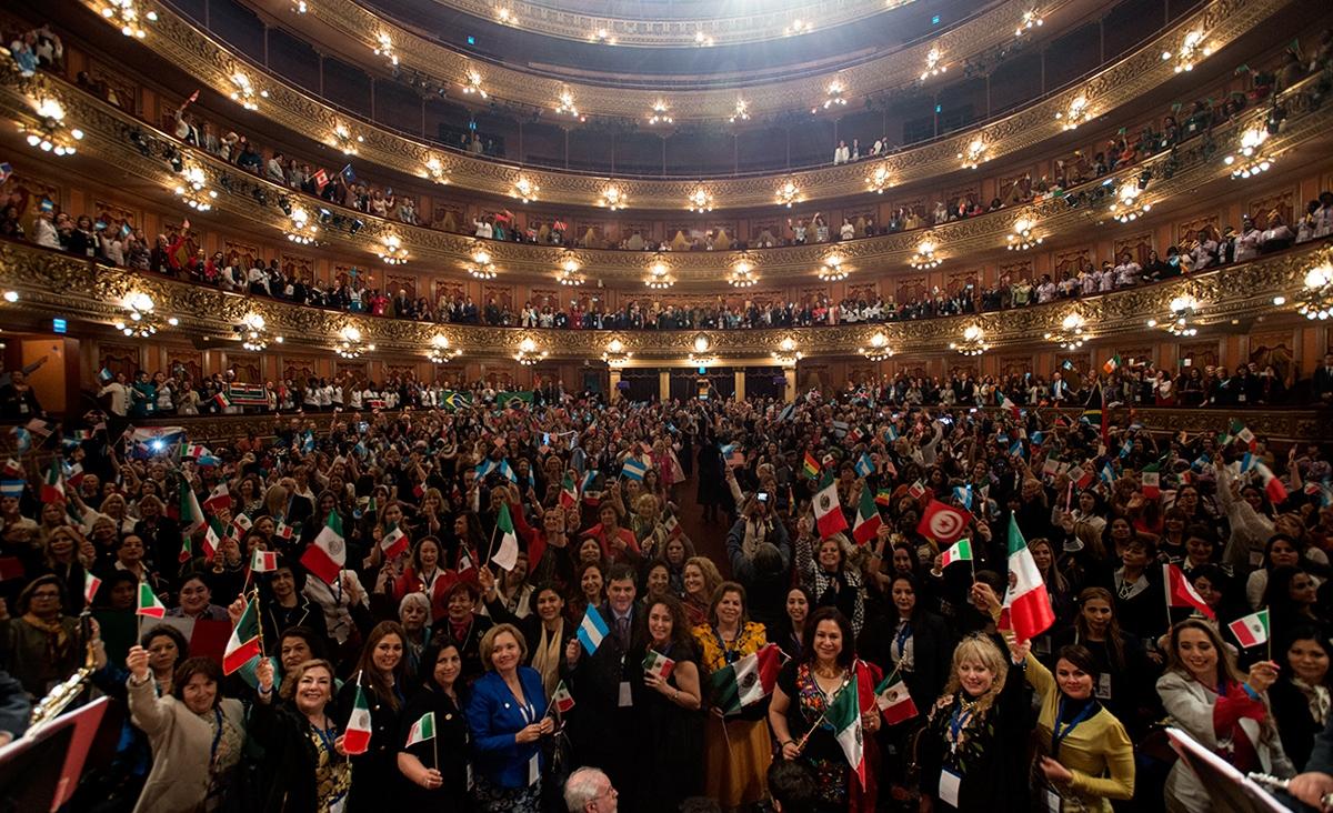 Comenzó en Buenos Aires la 14ª Conferencia Bienal de la Asociación Internacional de Mujeres Jueces