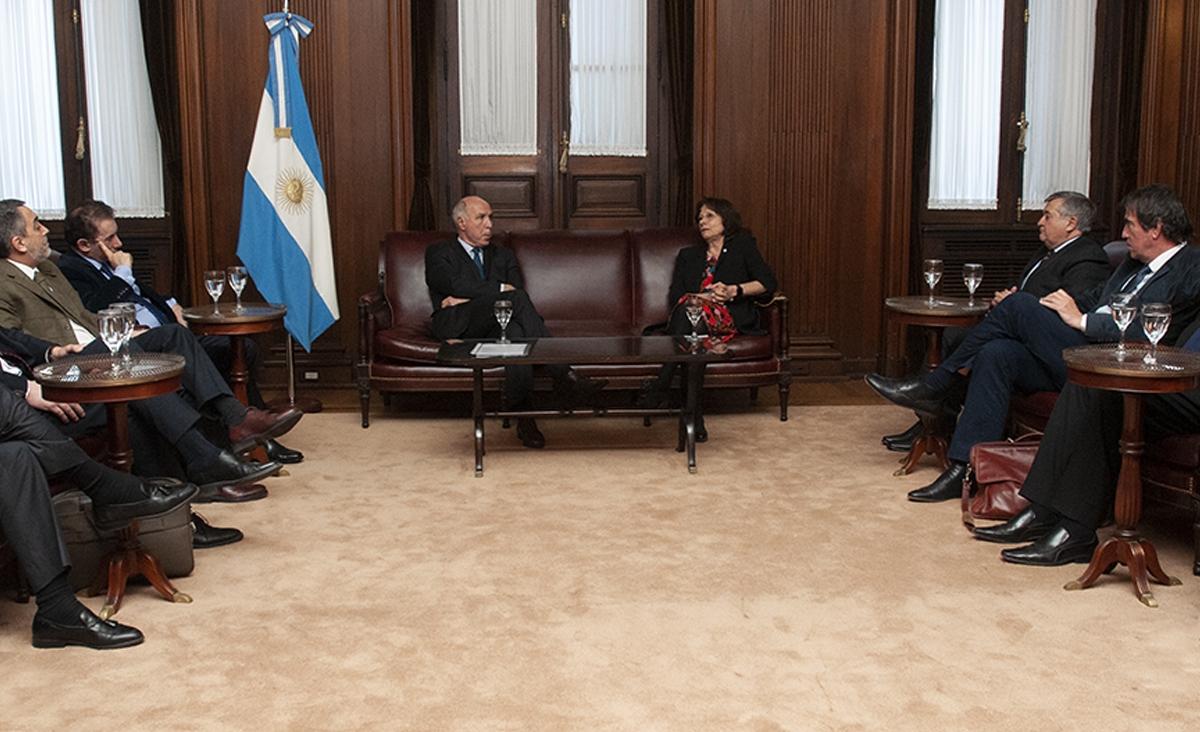 El Presidente de la Corte Suprema de Justicia de la Nación recibió a las nuevas autoridades de JUFEJUS