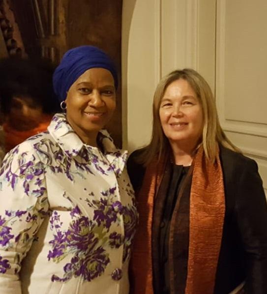 La Vicepresidenta del STJ se reunió con la Directora Ejecutiva de ONU Mujeres