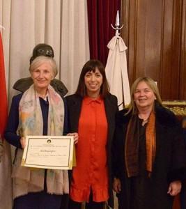Dra. Irmgard Griss, Licenciada Natalia Fidel, Dra. Medina