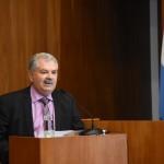 El Dr. Julio César Perez Ducasse (h) dirigió la palabra en nombre de los jubilados