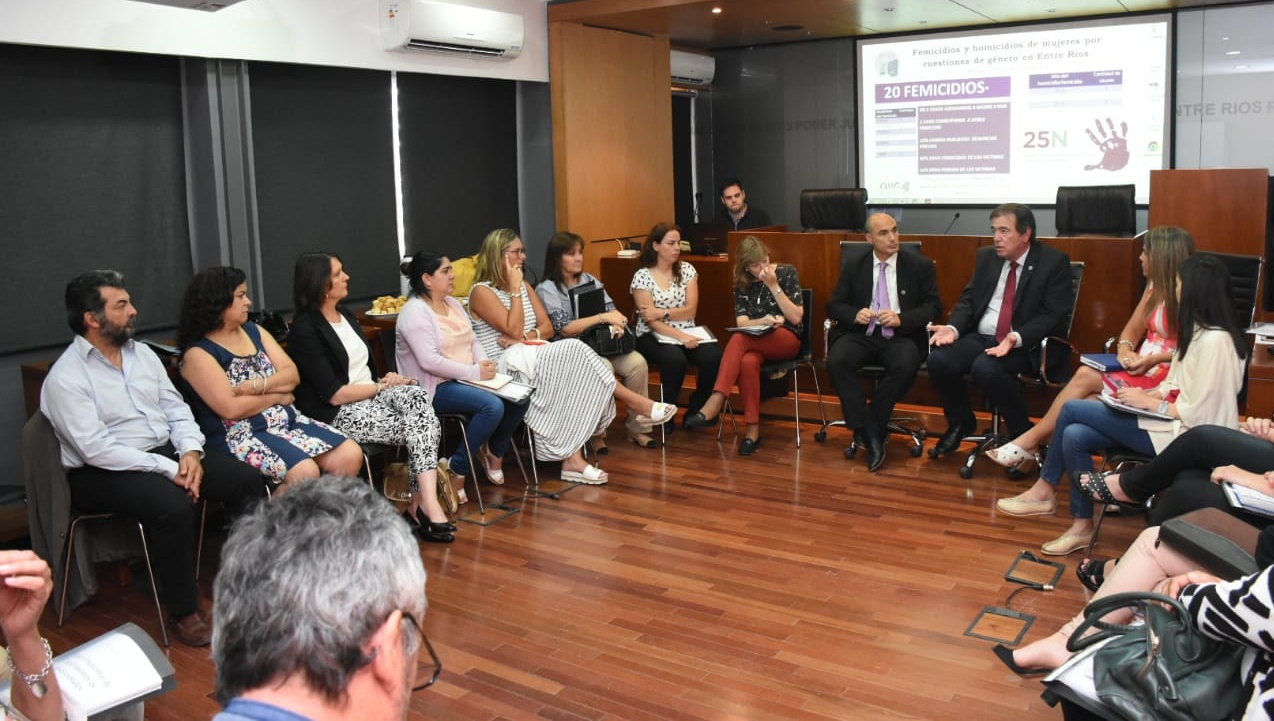 Equipos Técnicos evaluaron propuestas de trabajo para optimizar el acceso a la Justicia