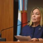 Dra. Medina presenta a Kemelmajer
