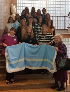 La Dra. Susana Medina junto a demás integrantes de la delegación argentina