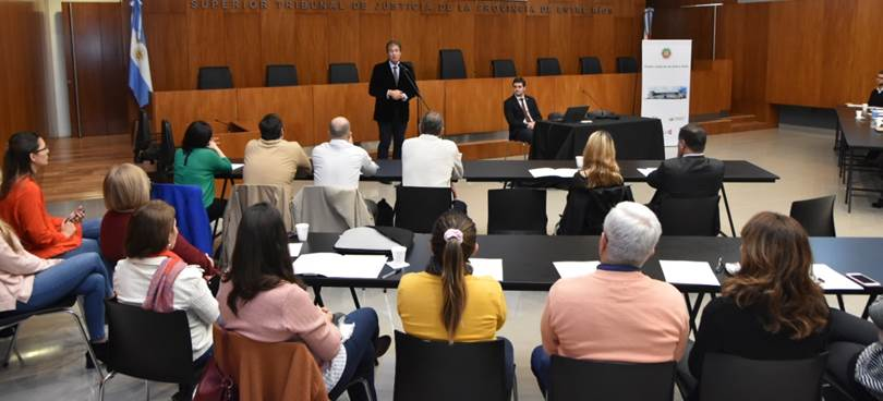 Castrillon inauguró hoy las IV Jornadas  Responsables de Recursos Humanos de los Poderes Judiciales de las Provincias Argentinas y de la Ciudad Autónoma de Buenos Aire (Ju.Fe.Jus)