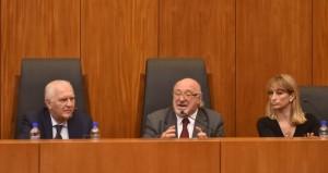 Héctor Granillo Fernández, Julio Federik y Laura Mariana Soage