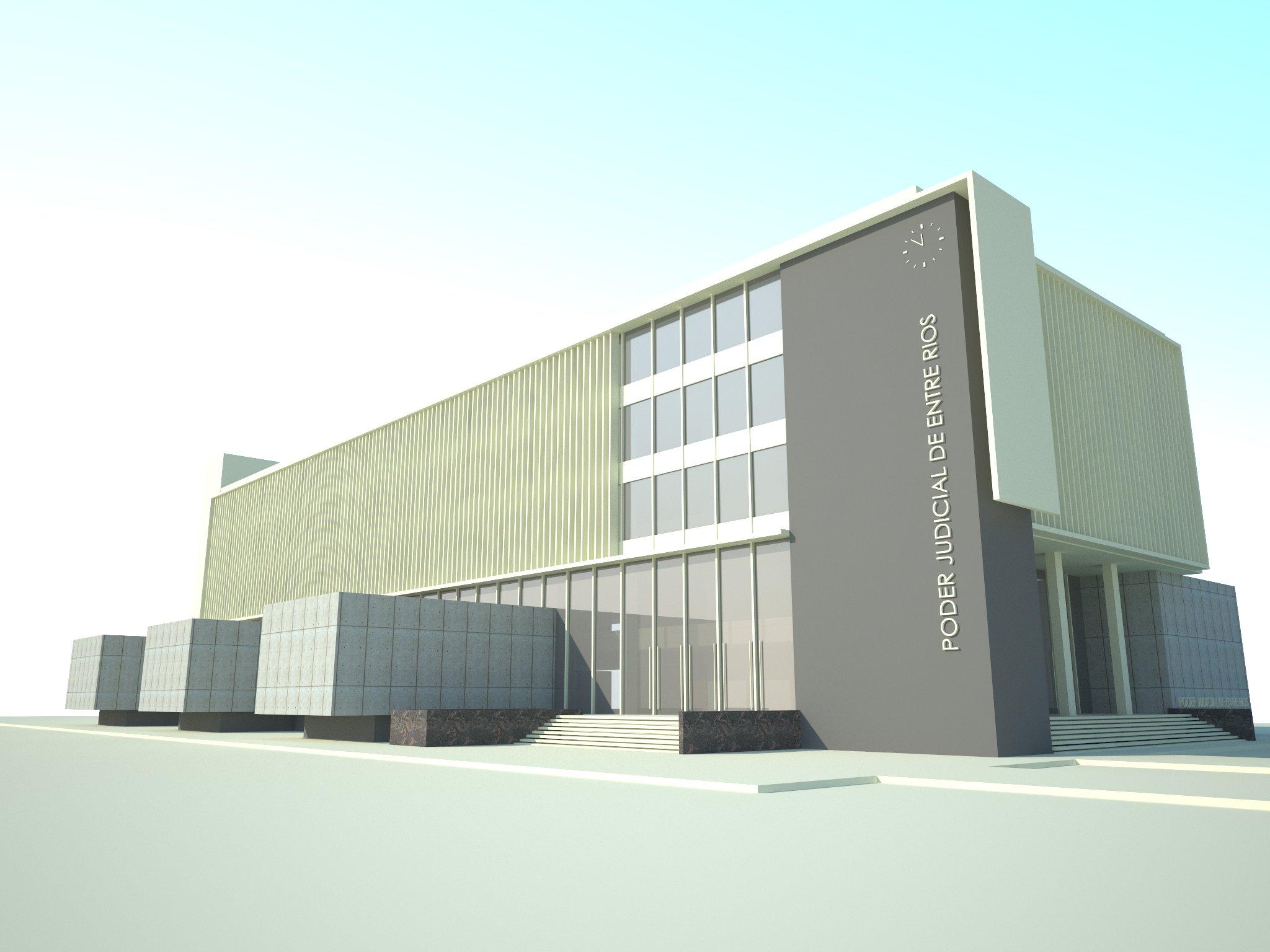 Se adjudicó la primera etapa de la obra de los Tribunales de Gualeguaychú