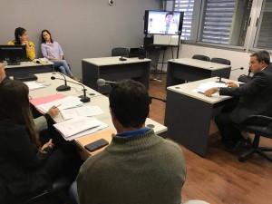 Videoconferencia en el fuero cyc de Paraná 2