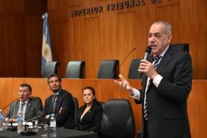 Eduardo Degano, Rodrigo Juárez, Mercedes Tabuenca y Juan Manuel Oliva
