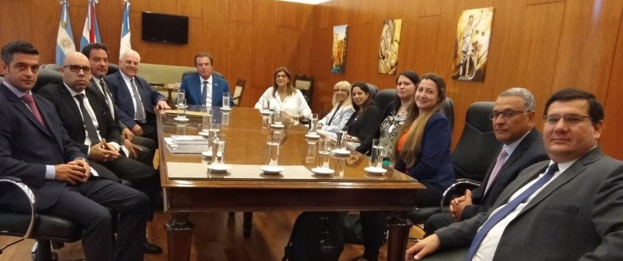 Magistrados de Corrientes visitan el Poder Judicial de Entre Ríos para interiorizarse en el sistema penal acusatorio