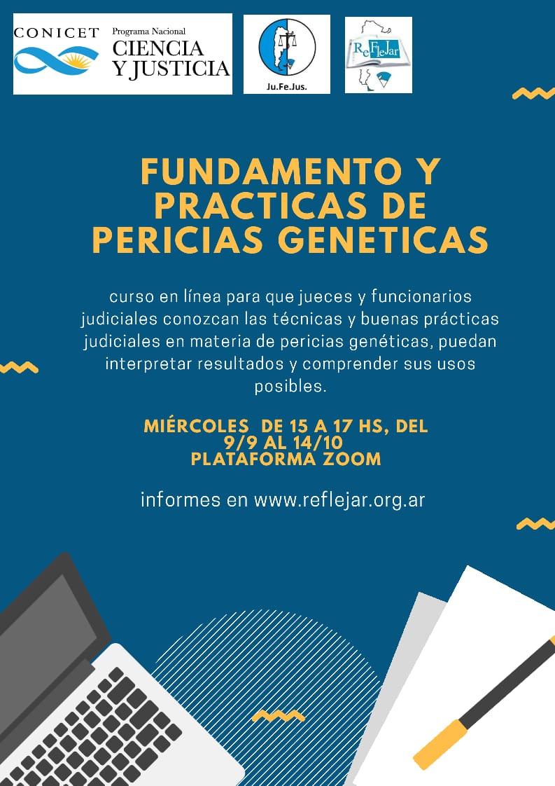 Se realizará la segunda clase de la capacitación sobre pericias genéticas