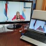 Apertura a cargo de la presidenta de REFLEJAR y vocal del STJER Claudia Mizawak