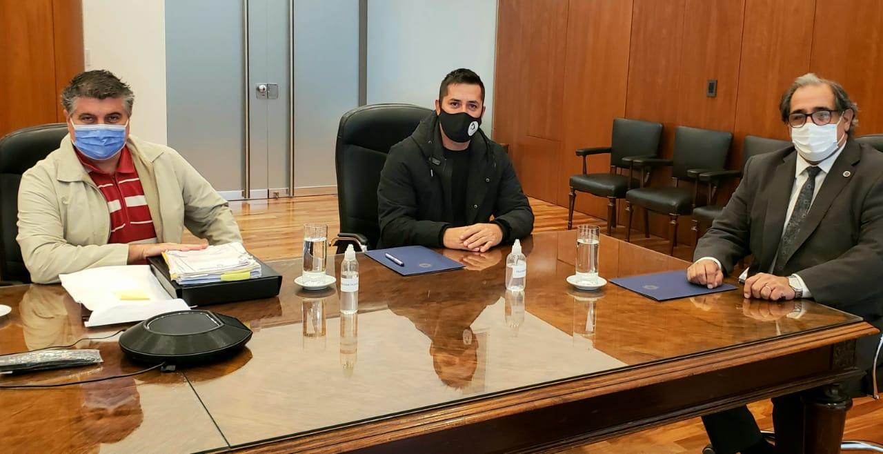 Firma de convenio entre el STJ y el municipio de Oro Verde