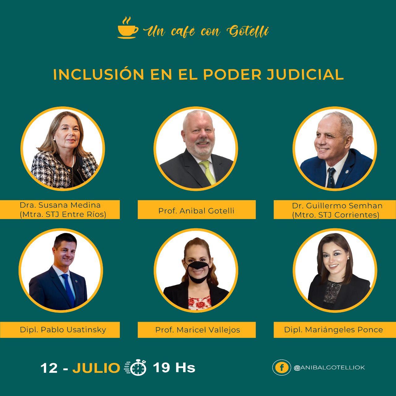 Inclusión en el Poder Judicial